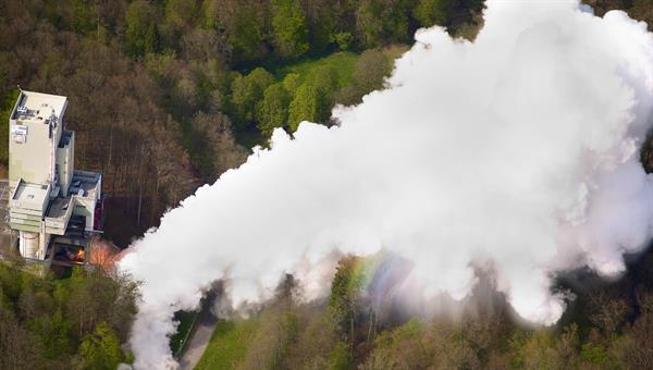 Luftaufnahme Vulcain Heißlauf