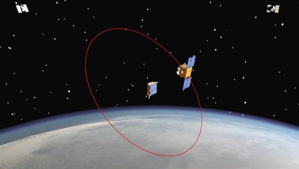 Satellitenbetrieb (Modellbild)