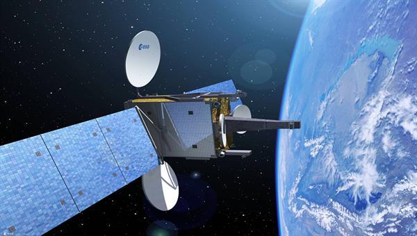 Modellbild Satellitenprojekt
