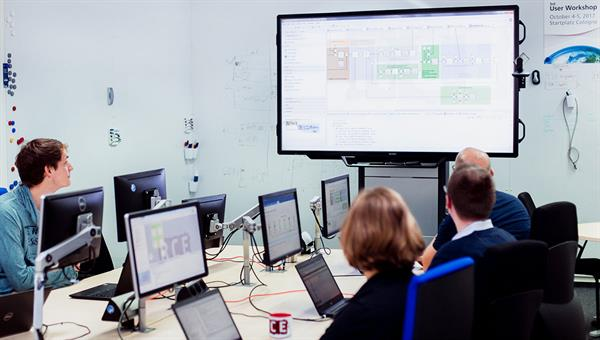 Software%2dTests der Simulationsumgebung RCE im Team