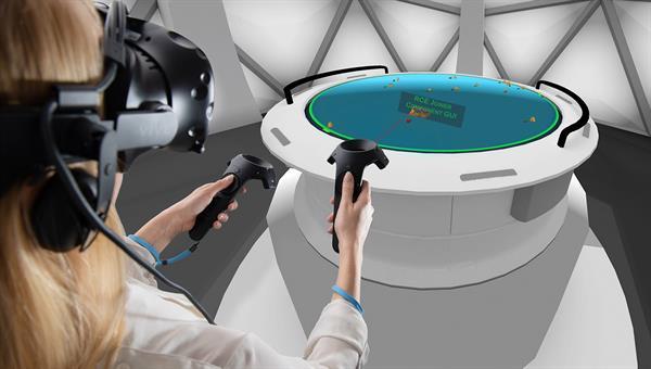 Interaktive Exploration von Software%2dArchitekturen in Virtual Reality, Bild: DLR