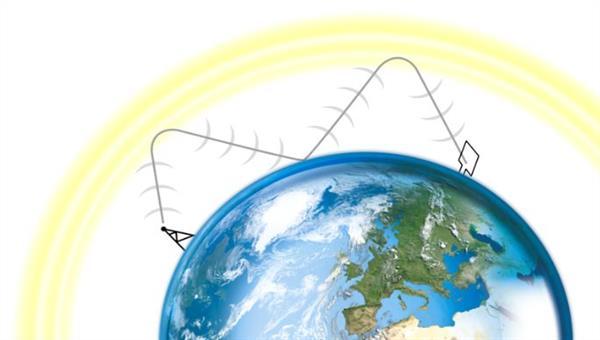 VLF%2dRadiosondierung der unteren Ionosphäre