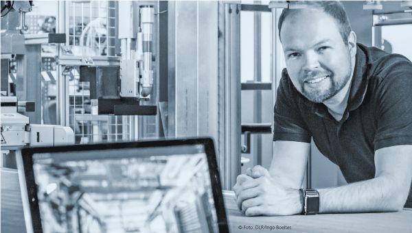 Sven Torstrick%2dvon der Lieth am Institut für Faserverbundleichtbau und Adaptronik © Fotos: DLR/Ingo Boelter 2018