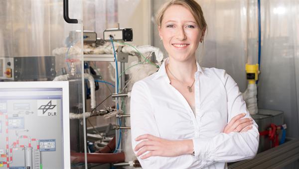 Margarethe Richter erforscht neue Energiespeicher