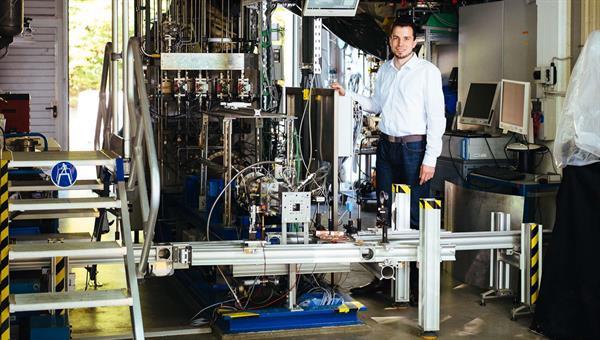 Friedolin Strauss testet Triebwerke für den Hyperschallflug