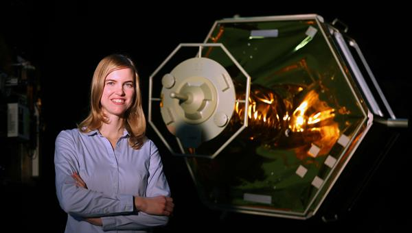 Projektleiterin Heike Benninghoff und ihr Team erproben robotische Weltraummissionen