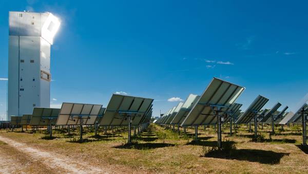 Solarturmkraftwerk Jülich
