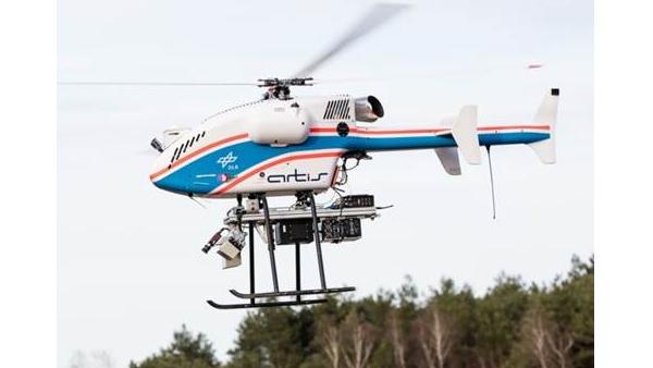Unbemanntes Luftfahrzeug superARTIS mit experimenteller Payload