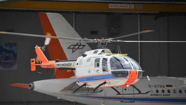 Forschungshubschrauber Airbus Helicopters BO 105