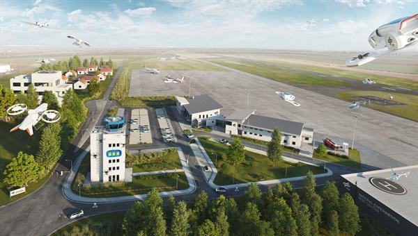 Nationales Erprobungszentrum für Unbemannte Luftfahrtsysteme in Cochstedt