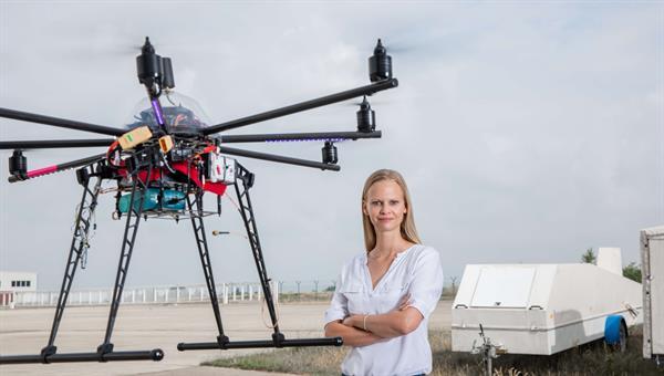 Dagi Geister erforscht die Anwendung von Drohnen im Stadtgebiet
