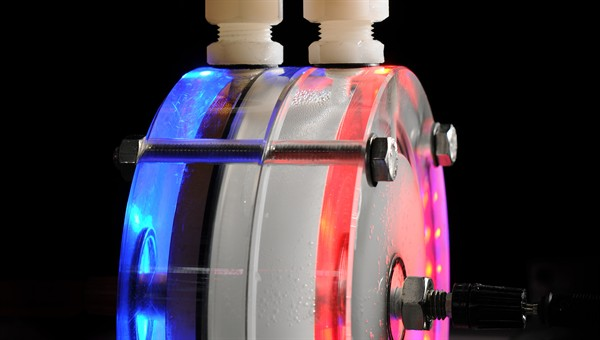 Detailaufnahme Elektrolyseur