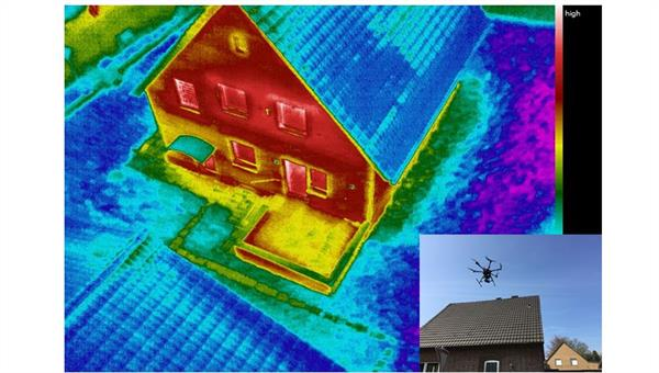 UAV based infrared thermography