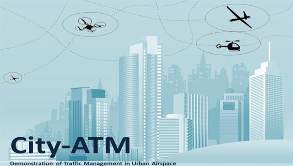 City%2dATM Demonstration of Traffic Management in Urban Airspace