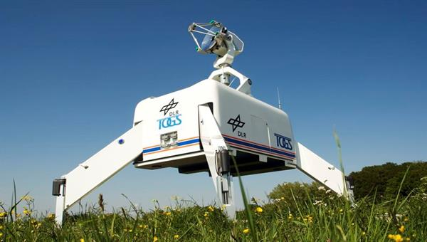 TOGS %2d Transportable Optical Ground Station during field measurement campaign