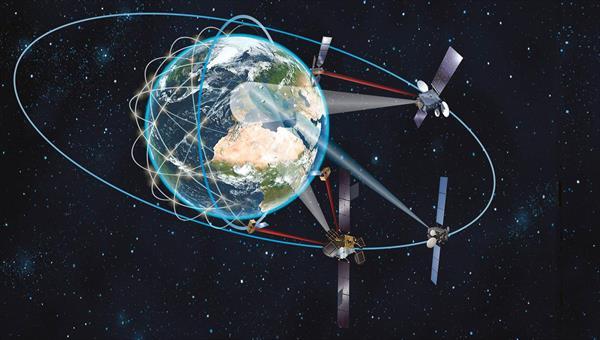 Satellite commuications network – space segment