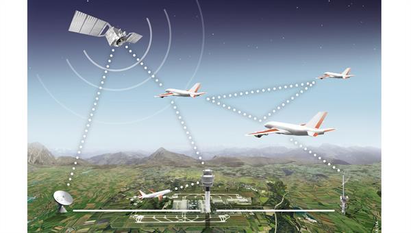 Digital aeronautical communication