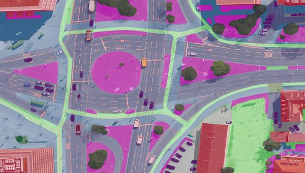 Modification of algorithms and methods for the detection and monitoring of Traffic%2drelevant information from aerial image data