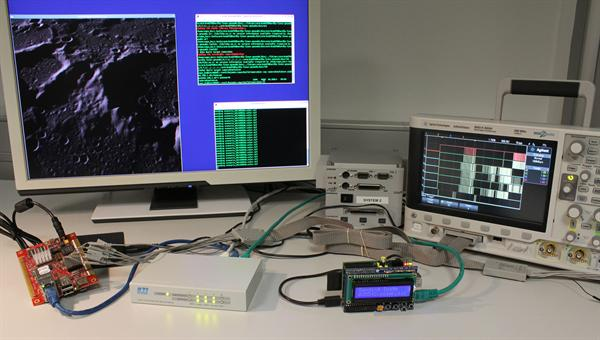 Testing interface timing for on%2dboard systems