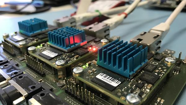 Future on%2dboard computer based on SpaceWire