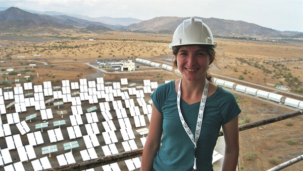 Research at the Plataforma Solar de Almería (owned and operated by the Spanish research center CIEMAT); picture: DLR