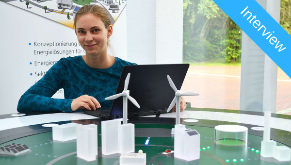 Dorothee Peters by the 'Networked energy systems' model