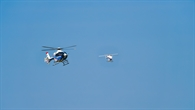 FHS (Flying Helicopter Simulator) und superARTIS im geregelten Formationsflug
