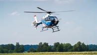 FHS (Flying Helicopter Simulator) im Anflug