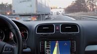 Auffahrsituation auf die Autobahn