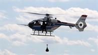 FHS mit Winde und Außenlast im Flug