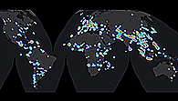 Satellitengestützte Notfallkartierungen weltweit