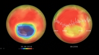 Ozonloch über der Antarktis: Entwicklung 1960%2d2100
