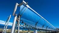 Parabolrinnen für ein solarthermisches Kraftwerk