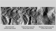 Nah, näher, am nächsten – die ersten Bilder mit der besten Auflösung von Vesta
