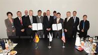 NASA%2dDelegation zu Gast beim DLR auf der ILA Berlin Air Show 2012