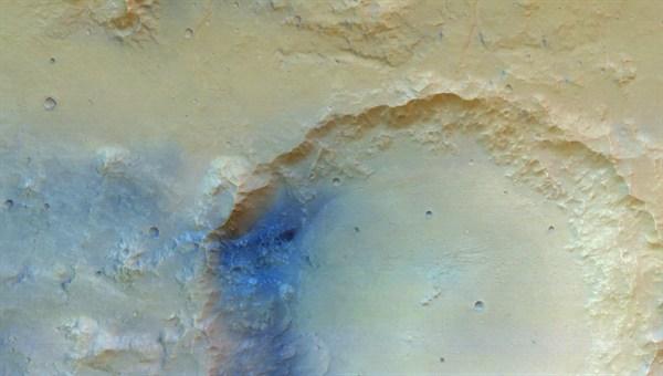 Mars Express: Die erste Aufnahme der Stereokamera