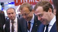 Prof. Wörner im Gespräch mit Dimitri Medwedew