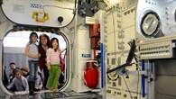 Einblick in die ISS
