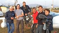 Das deutsche Team aus Piloten des Mountain Wave Project (MWP) und Wissenschaftlern des DLR