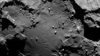 Nahaufnahme vom Kometen