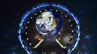 Vom gläsernen Fahrstuhl aus hat man einen Blick auf die Erde, wie sie sonst nur Astronauten genießen