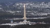 Start der Rakete in Nord%2dSchweden