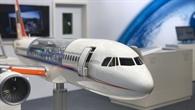 Modell des DLR%2dForschungsflugzeugs ATRA