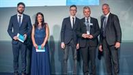 Andreas Dipplhofer (AZO), Kathrin Lenvain (AZO), Jurgis Alekandravicius, Saulius Rudys, Rolf%2dDieter Fischer (Technologiemarketing DLR),
