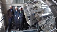 HYDROSOL_Plant%2dReaktoren auf der Plataforma Solar de Almería (PSA)