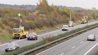 Verkehrserfassung auf der Autobahn