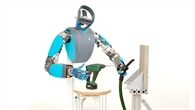 Fingerfertiger Roboter David
