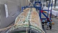 500 Sensoren messen die Schwingung direkt am Rotorblatt