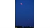 Mondfinsteris mit Mars