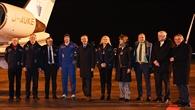 Alexander Gerst wird am Flughafen Köln/Bonn begrüßt